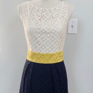 MILLY Lace Sheath Dress